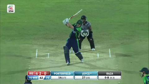 M8: IRE v UAE - Ireland Innings Short Highlights