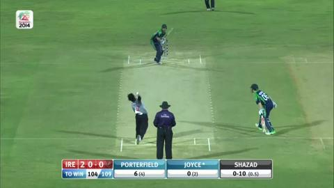M8: IRE v UAE - Ireland Innings Super Fours