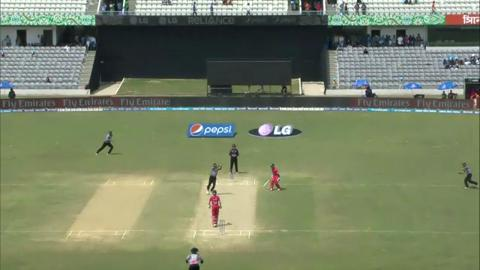M11: Zim v UAE  - Zimbabwe innings Fall of Wickets