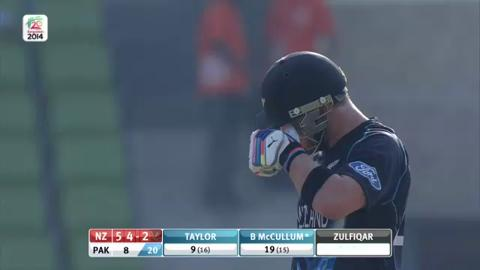 Warm-up: NZ v Pak - Innings 1 - Super Sixes