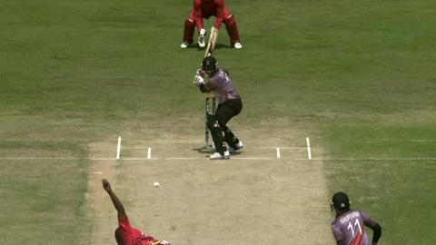 M11: Zim v UAE  - UAE innings Super Fours