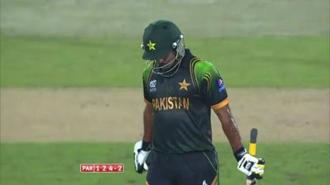 Warm-up: NZ v Pak - Innings 2 - Wickets