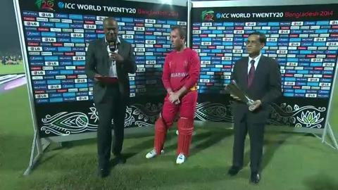 M7: ZIM v NED, Man of The Match - Brendan Taylor