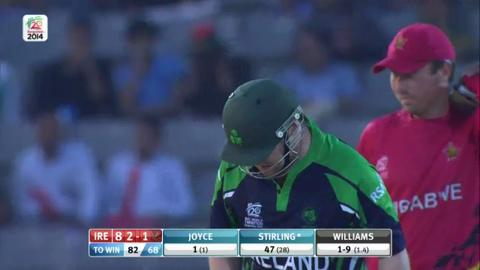 M3: ZIM v IRE - Man of The Match - Paul Stirling