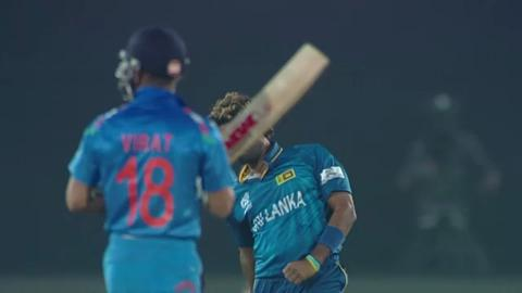 Warm-up: IND v SL - Match Hero - Lasith Malinga 4 wickets