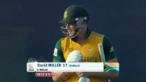 M21: SA v NED - David Miller wicket