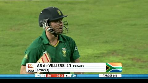 Super Eights - India v South Africa - South Africa innings