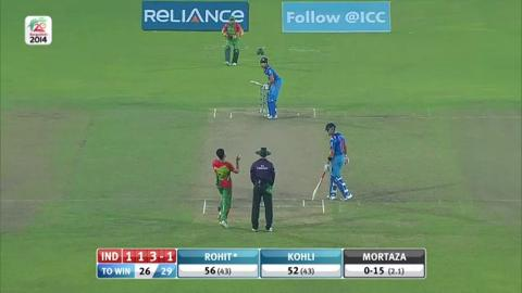 M24: Ind v Ban - India Wickets