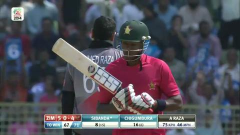 M11: Zim v UAE  - Zimbabwe innings Super Sixes