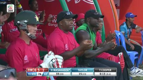M7: ZIM v NED - Zimbabwe Innings Super Sixes