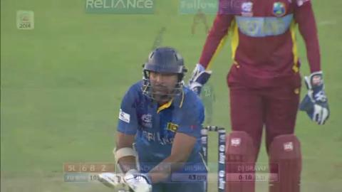 Warm-up: SL v WI - Sri Lanka Innings Super Fours