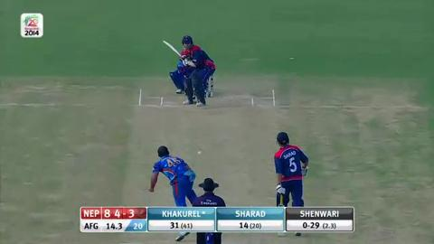 M9: AFG v NEP - Nepal Innings Super Sixes