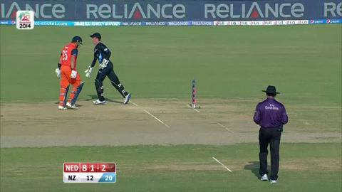 M25: NZ v Ned - Netherlands Wickets