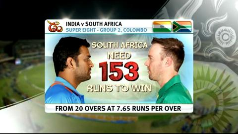 Super Eights - India v South Africa - Match highlights