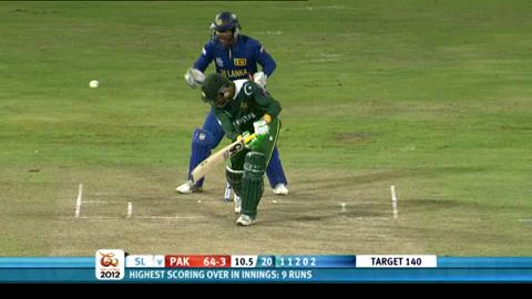 1st men's semi-final - Sri Lanka v Pakistan - Pakistan innings