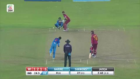 M17: IND v WI - Full Match Highlights