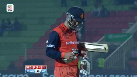 M4: UAE v NED -  Netherlands Wickets