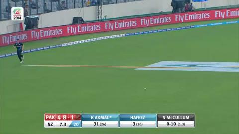 Warm-up: NZ v Pak - Innings 2 - Super Fours