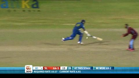 Men's Final - Sri Lanka v West Indies - Sri Lanka innings