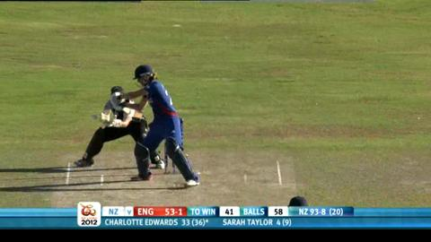 1st women's semi-final - England v New Zealand - England innings
