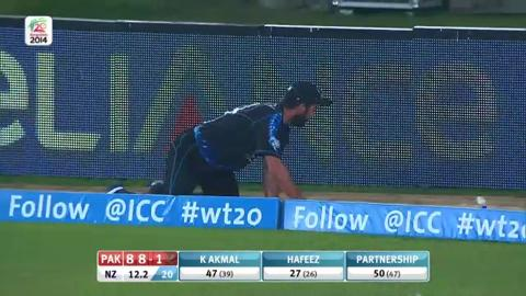 Warm-up: NZ v Pak - Mohammad Hafeez Innings