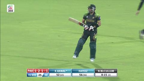 Warm-up: NZ v Pak - Kamran Akmal retired hurt