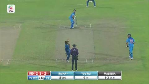 Warm-up: IND v SL - Match Hero - Suresh Raina - 41 runs