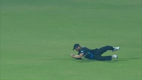M30: SL v NZ - Sachitra Senanayake Wicket