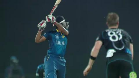 M30: SL v NZ - Lahiru Thirimanne Wicket
