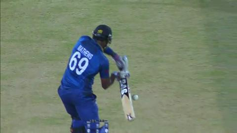 M30: SL v NZ - Sri Lanka Innings - Wickets