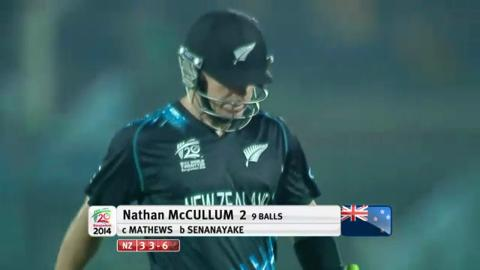 M30: SL v NZ - New Zealand Innings - Short Highlights