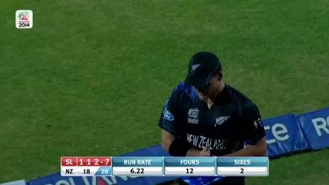 M30: SL v NZ - Sri Lanka Innings - Super Sixes