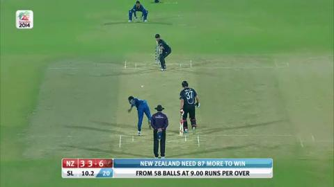 M30: SL v NZ - New Zealand Innings - Super Fours