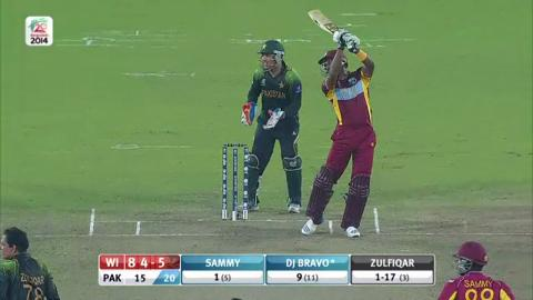 M32: WI v Pak - West Indies innings Super Fours