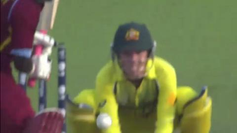 SF1: Australia women v West Indies women - Kycia A Knight Wicket