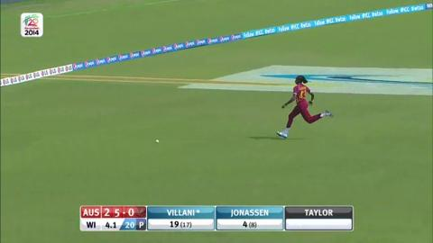 SF1: Australia women v West Indies women - Elyse Villani Innings