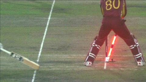 SF1:  Sri Lanka v West Indies - Mahela Jayawardena wicket