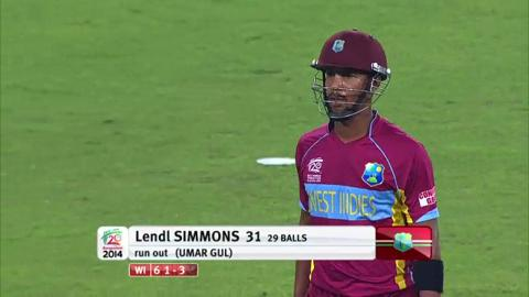 M32: WI v Pak - West Indies innings Wickets
