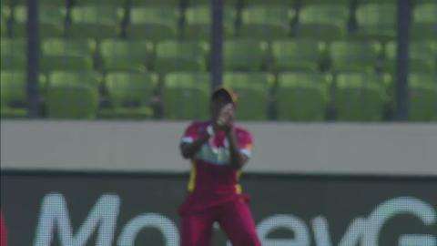 SF1: Australia women v West Indies women - Elyse Villani Wicket
