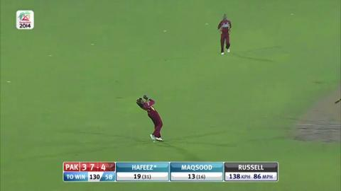 M32: WI v Pak - Pakistan innings Wickets