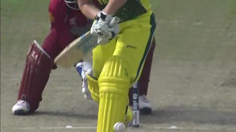 SF1: Australia women v West Indies women - Jess Cameron Wicket