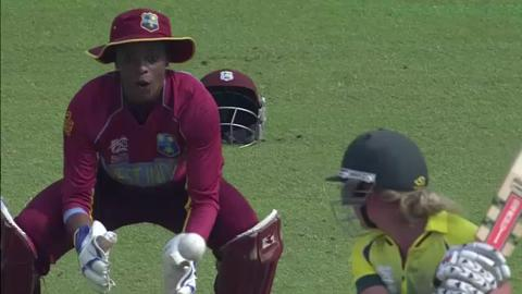 SF1: Australia women v West Indies women - Meg Lanning Wicket