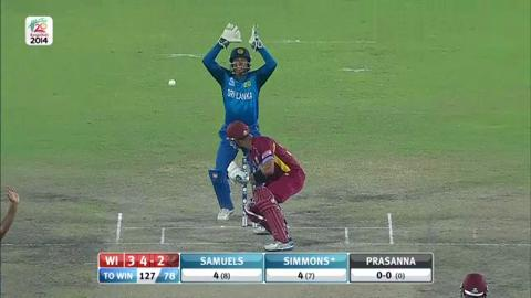 SF1: Sri Lanka v West Indies - West Indies Wickets