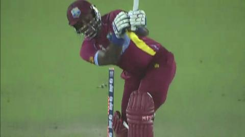 SF1: Sri Lanka v West Indies - Dwayne Smith Wicket