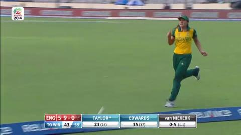 SF2: England Women v South Africa women-Short Highlights England innings