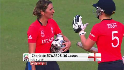 SF2: England Women v South Africa women-Wickets England innings