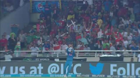 SF2: South Africa v India - AB de Villiers Wicket