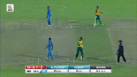 SF2: South Africa v India - JP Duminy Innings