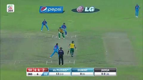 SF2: South Africa v India - Faf du Plessis Innings