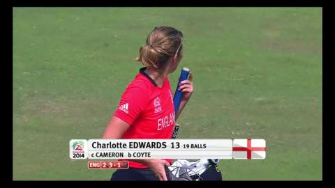 Final: Australia Women v England Women - Charlotte Edwards Wicket